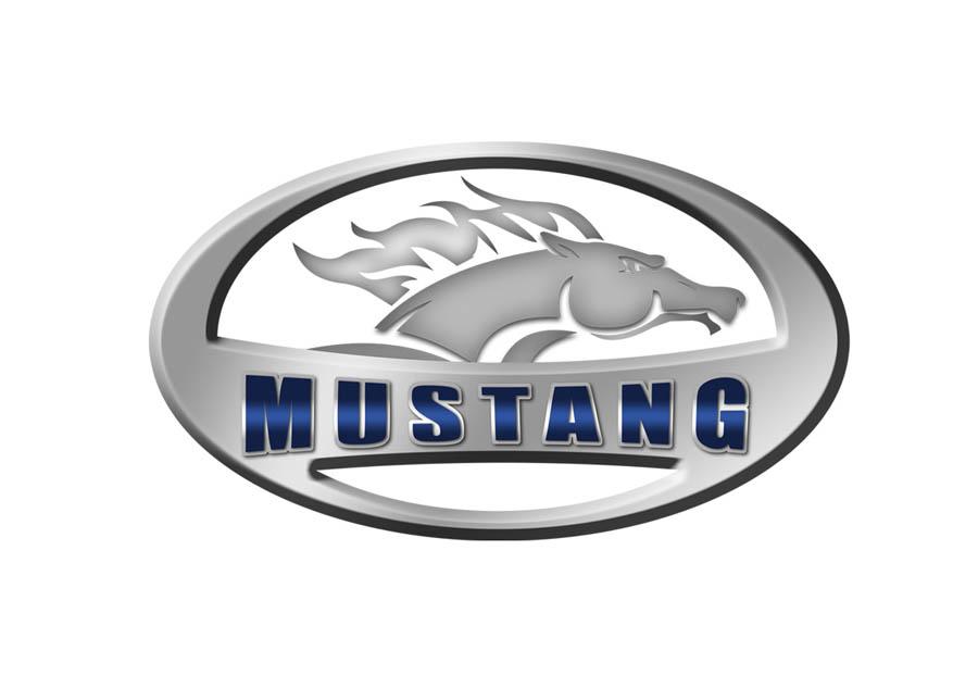 13. Logo Mustang