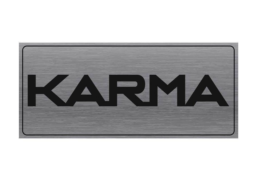 8. Logo Karma