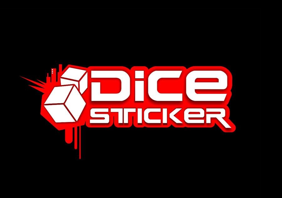 Dice-sticker