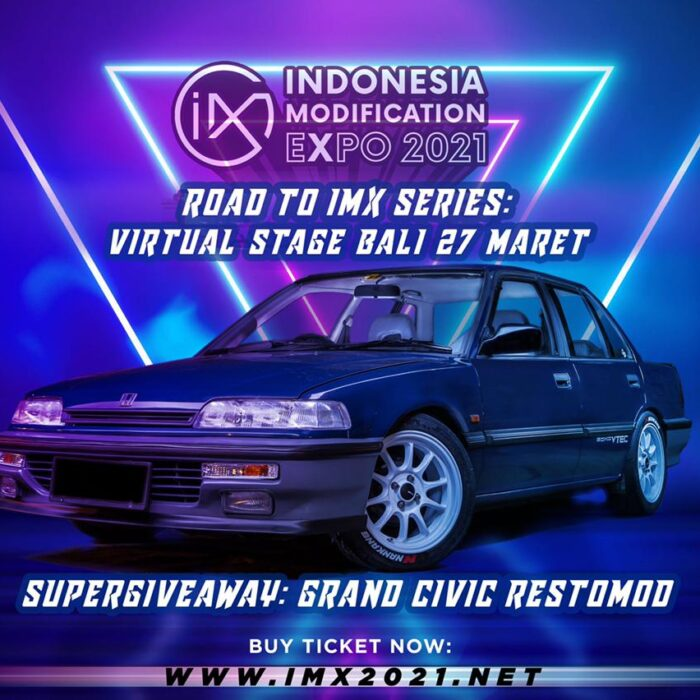 Seminggu Menuju Road to IMX 2021 Series: Virtual Stage Bali