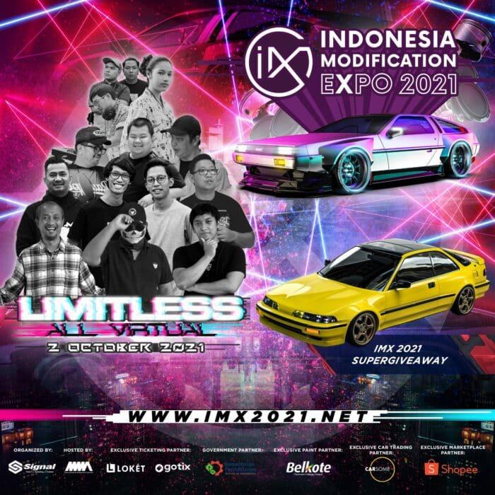 Penuh Terobosan, Puncak Indonesia Modification Expo 2021 Limitless – All Virtual Sukses Terlaksana!