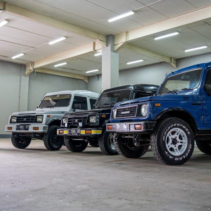 IMX LiveModz 2021 Dimulai! Tiga Car Enthusiast Bersiap Modifikasi Suzuki Jimny